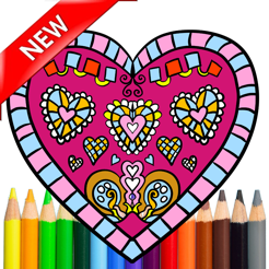 Adult Coloring Mandala Book For Stress Relieved