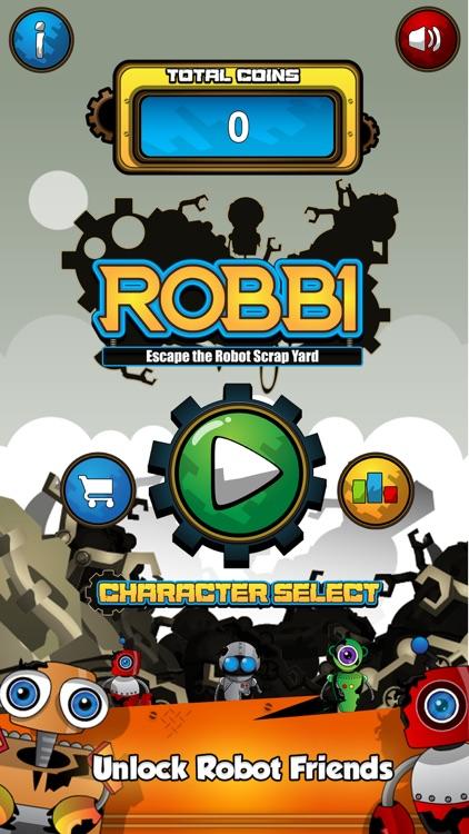 Robbi - Escape The Robot Scrap Yard Free screenshot-4