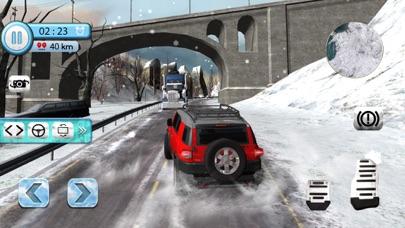 汽车驾驶模拟器-FJ 4 x 4 的雪巡洋舰驾驶 App 截图