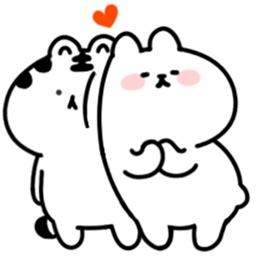 Friendmoji:Dog & Tiger