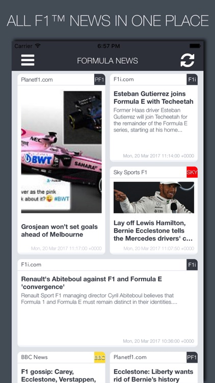 Formula News screenshot-0