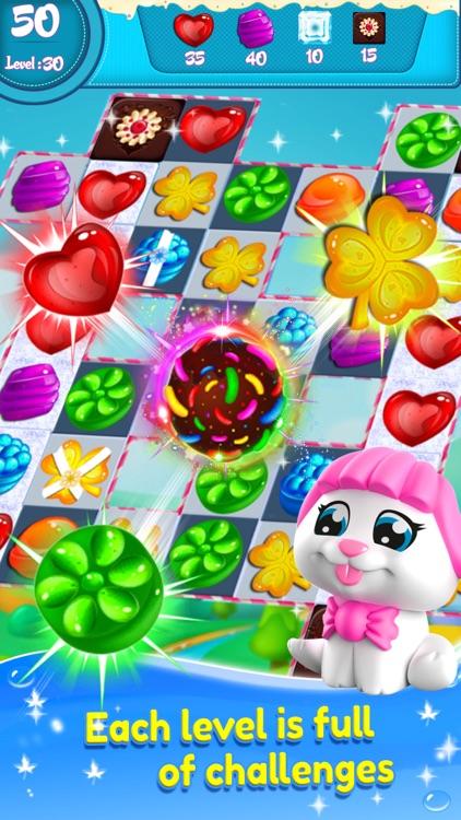 Candy Match 3 - Crazy Sugar Blast