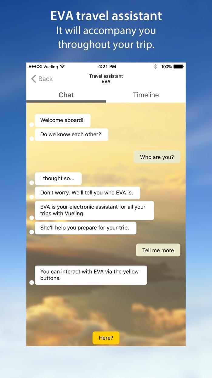 Vueling Airlines - Cheap Flights Screenshot