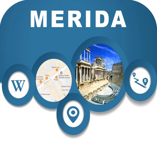 Merida Mexico Offline City Map Navigation