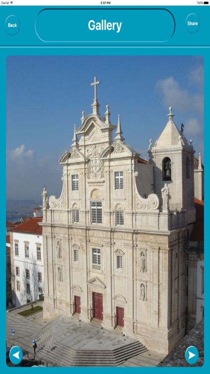 Coimbra Portugal Offline City Maps Navigation screenshot-4