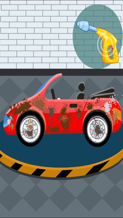 Car Cleaning - kids car wash game