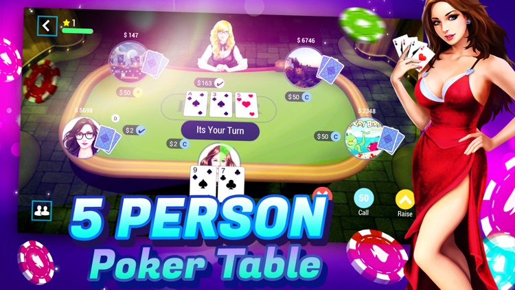 TEXAS HOLDEM POKER ONLINE+ screenshot-1
