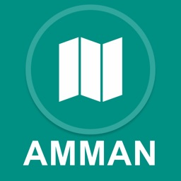 Amman, Jordan : Offline GPS Navigation