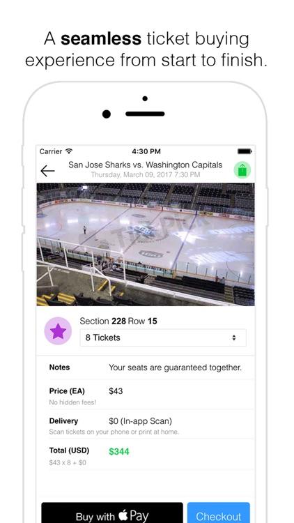 TickPick: No Fee Tickets | Sports, Concerts, Shows screenshot-4