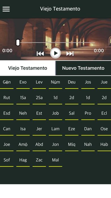 Spanish Bible with Audio - La Santa Biblia app image