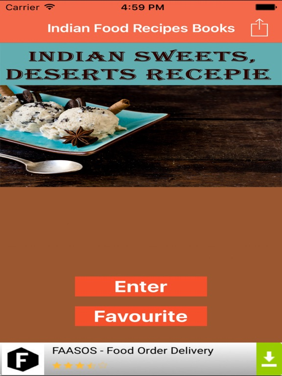 Indian food sweets and desserts recipes in hindi app price drops screenshot 1 for indian food sweets and desserts recipes in hindi forumfinder Images