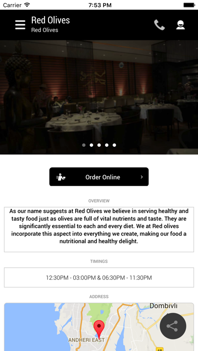 Red Olives screenshot two