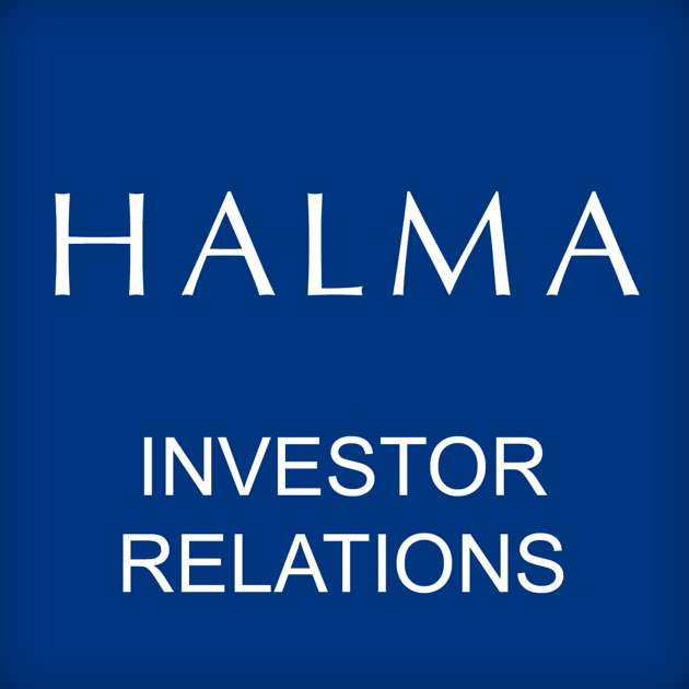 Halma Investor Relations App on the App Store