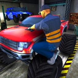 Truck Mechanic Simulator – Car Engine Repair Game