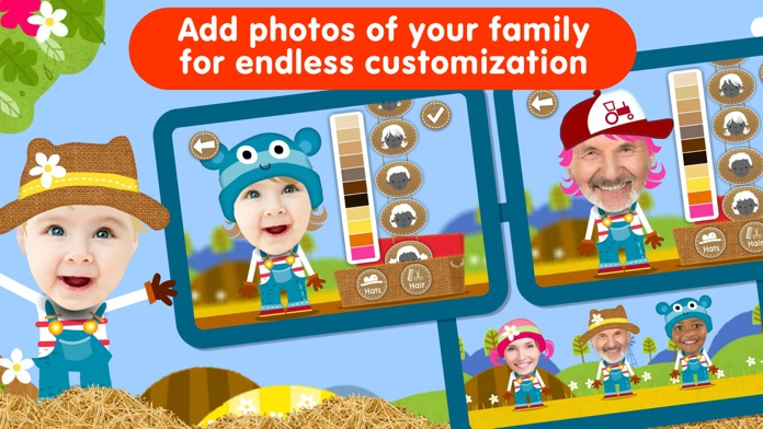 Animal Peekaboo: Baby Games Screenshot
