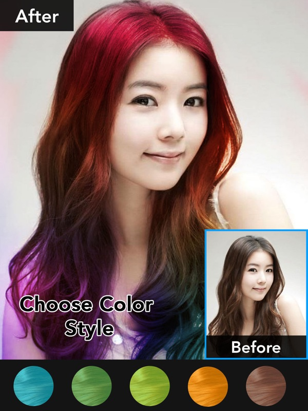 Hair Color Changer Beauty Makeup Booth Online Game Hack And