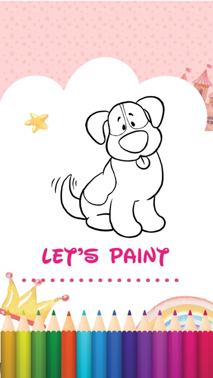 Animal Coloring Book and Drawing for Kids Toddlers screenshot-4