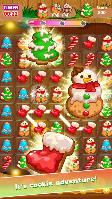 Christmas Winter Mania - Free Match 3 Puzzle screenshot one