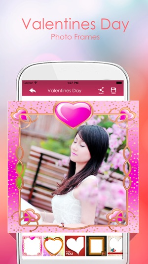 Valentine Day Photo Frames On The App Store