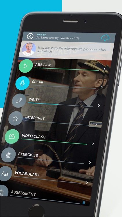 Learn English with Films - ABA English app image