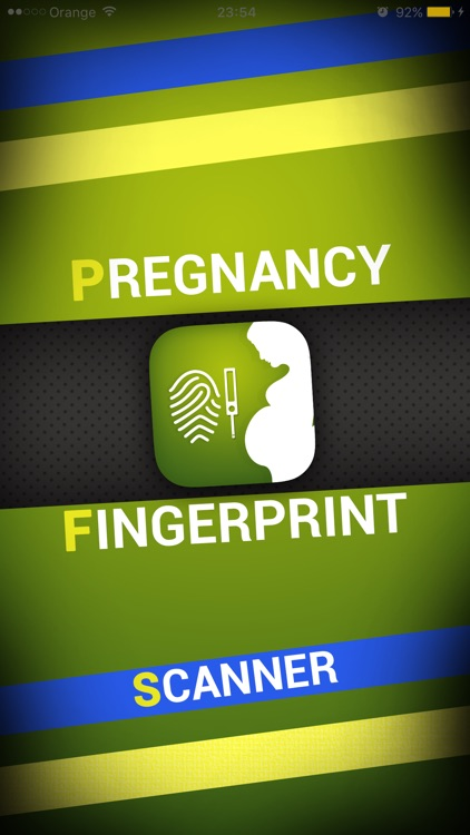 Pregnancy Test Fingerprint Machine - PRANK
