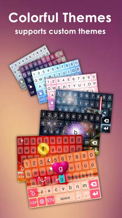 IQQI Keyboard screenshot-1