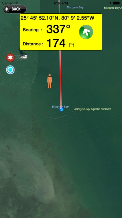 MOB Quick Waypoint man overboard GPS map tracking