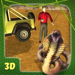 Snake Catcher Simulator & Wildlife Jeep Drive Game