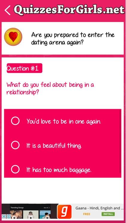 Quizzes For Girls screenshot-3