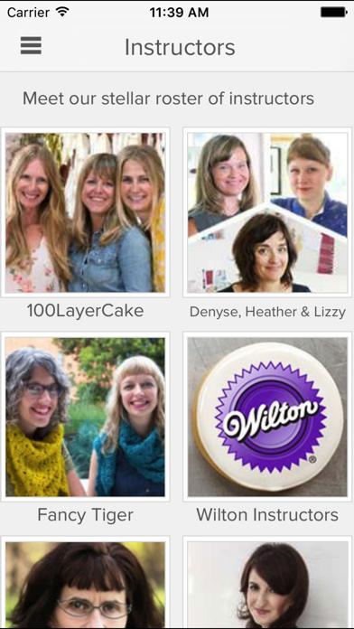 Creativebug: art, drawing, knitting, sewing & more screenshot four
