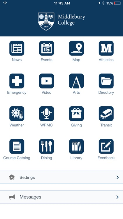 Middlebury College Mobile