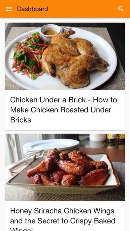 Cookbook: video recipes salads, chicken, cakes