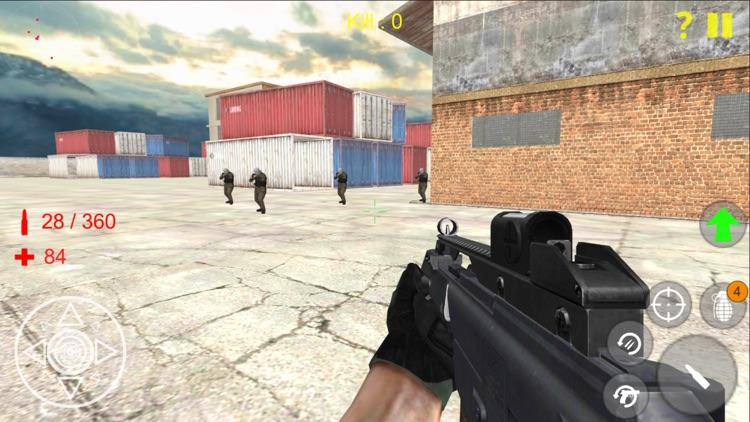 Shooting Strike Mobile Game