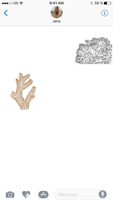 Korallen-StickerpackScreenshot von 2