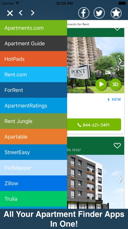 Apartments All In One Pro - Search, Rent, & More!