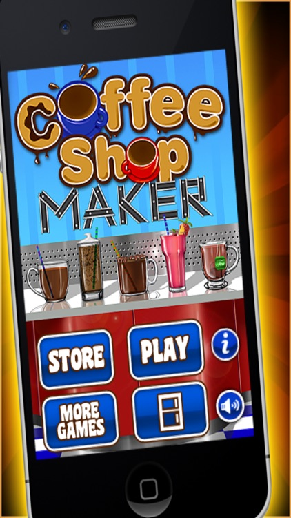 Coffee Shop Maker Game screenshot-0