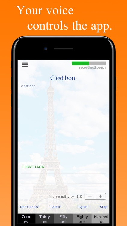 HandsFree French - Learn French Hands Free screenshot-0