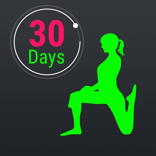 30 Day Fitness Challenges ~ Daily Workout Free app logo