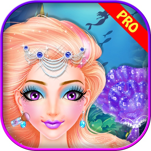 Royal Mermaid Princess Salon Pro