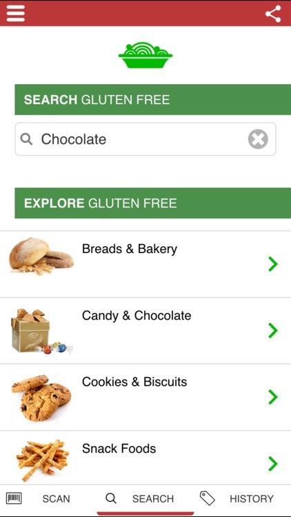 The Gluten Free Scanner FULL - Barcode Scanner