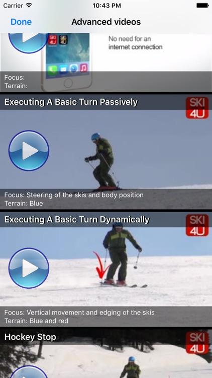 Ski Lessons 4U - Advanced