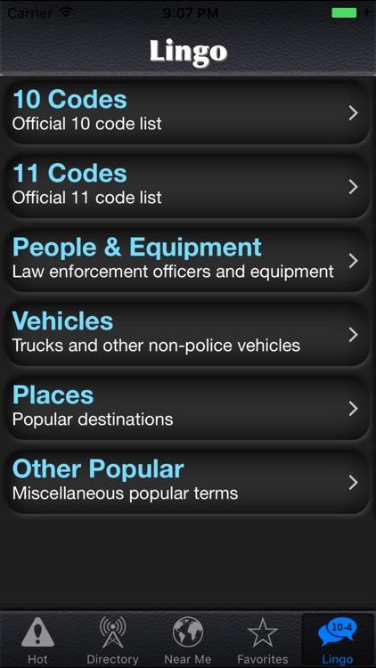 Police Scanner Radio screenshot-3