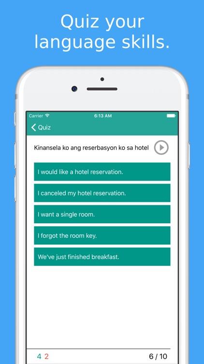 Simply Learn Tagalog - Speak Filipino Language screenshot-3