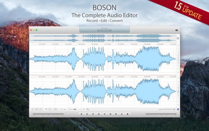 Boson - Audio Editor DMG Cracked for Mac Free Download