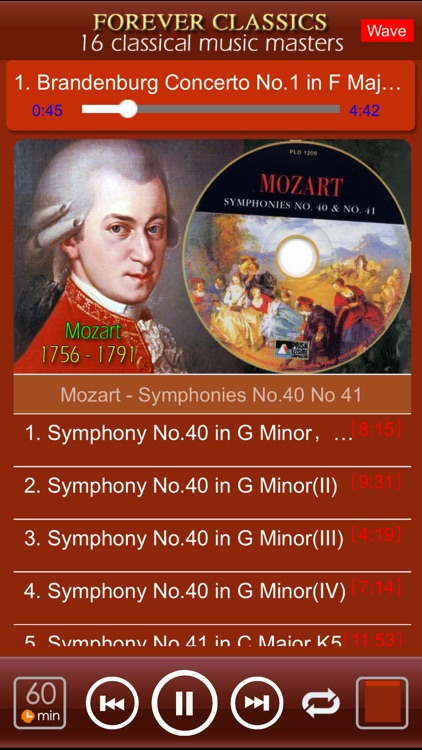 [16 CD] Forever Classics[16 classical masters] screenshot-3