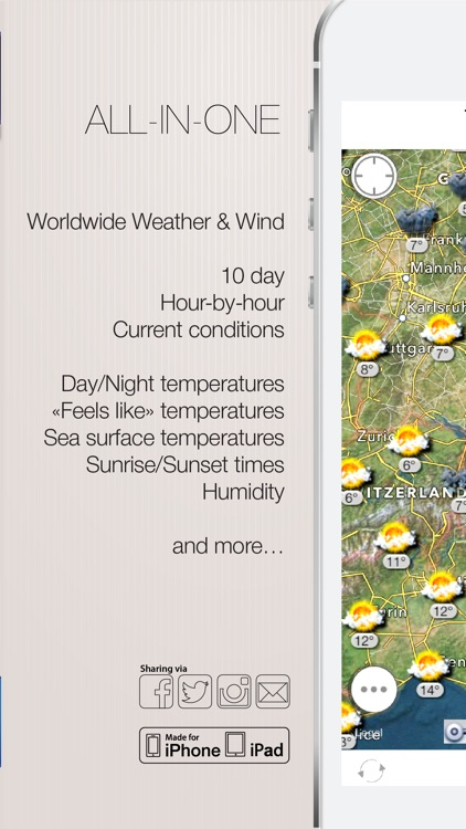 Weather Forecast and Wind Map