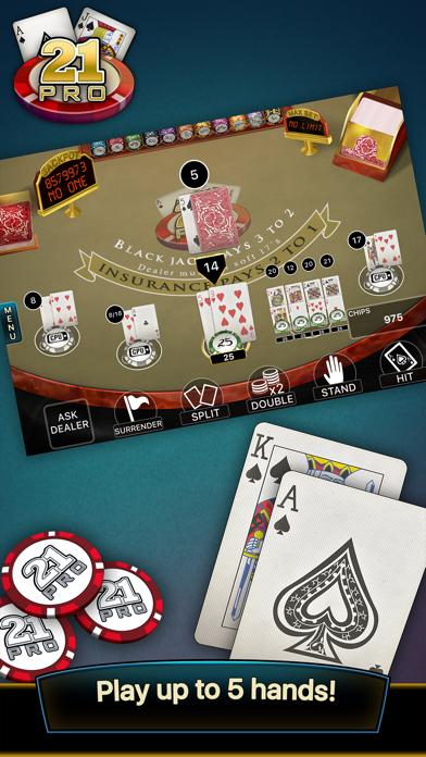 21 Pro: Blackjack Multi-Hand screenshot three