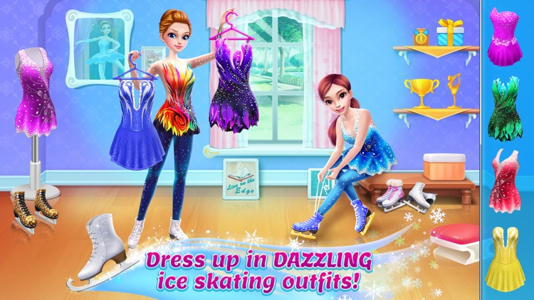 Ice Skating Ballerina screenshot-0