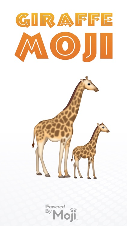 GiraffeMoji by Moji Stickers