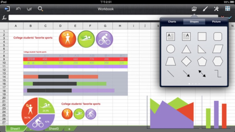 Quick Office Suite - for MS Office iWork Documents screenshot-3